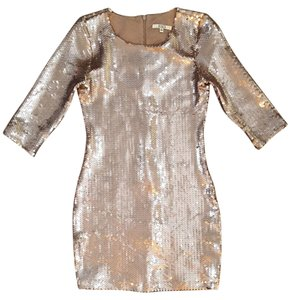 BB Dakota Sequin Sequin Holiday Dress