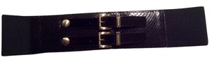 Michael Kors Michael Kors Belt Double Gold Buckle Stretch