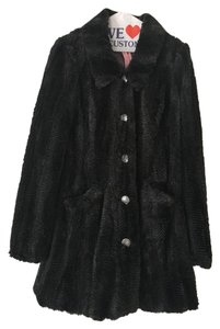 Free People Faux Fur Fur Fur Coat