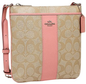 Coach Signature Pvc F52856 Cross Body Bag