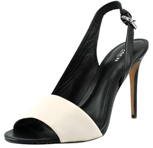 Coach Black and Chalk Pumps