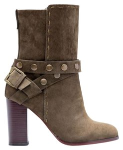 JustFab Olive Boots