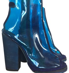 Jeffrey Campbell Blue Boots