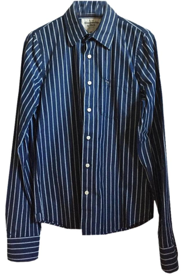 f64c095ad Abercrombie & Fitch Zara Topshop Anthropologie Madewell Mens Button Down  Shirt Image 0 ...