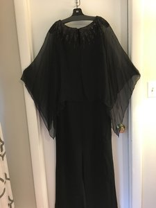 Neiman Marcus Beaded Black Nwt Neiman Marcus Sleeveless Long Beaded Black Gown Dress