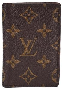 Louis Vuitton Louis Vuitton Monogram Canvas Pocket Organizer