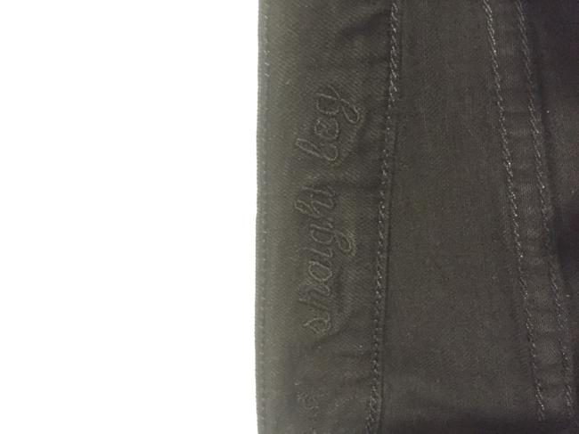 7 For All Mankind Straight Leg Jeans-Dark Rinse Image 3