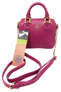 Tory Burch Mini Satchel in Wildberry