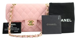 Chanel Quilted Double Flap Caviar Classic Shoulder Bag