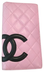Chanel Chanel Pink Cambon Bifold Wallet #323044250-26717669