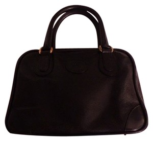 Gucci Popular Style Rare All Style Bowling Mint Condition Perfect For Everyday Satchel in buttery soft black leather