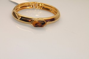 Vince Camuto NEW Vince Camuto Bracelet gold tone cuff tortoise bead