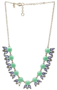 J.Crew NEW J.Crew Goldtone Statement Faceted Rhinestone Chain Necklace