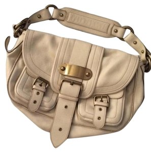 Marc Jacobs Leather Fall Designer Satchel in Cream