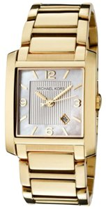 Michael Kors Women's Watch MK3147 MK3147 Gold-Tone mother of pearl face analog watch