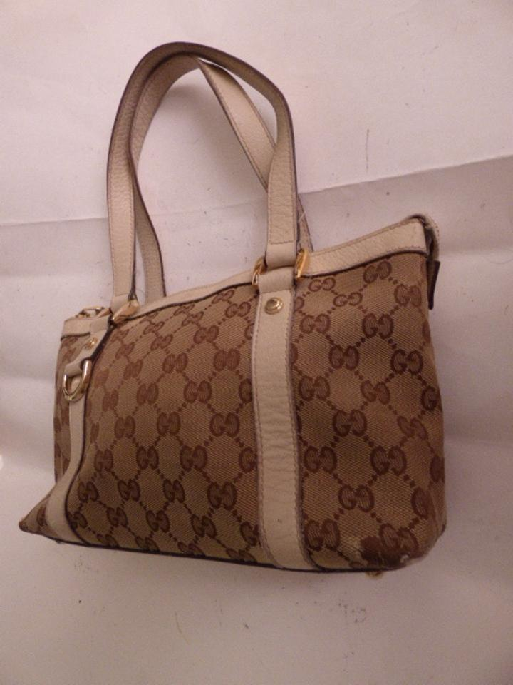 e64d06f78557 Gucci Bold Gold Accents Satchel/Tote Style Excellent Vintage Great Everyday  Abbey D Ring Line. 123456789101112