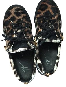 Giuseppe Zanotti Black and brown and white Athletic