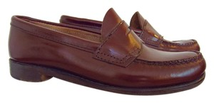 G.H. Bass & Co. Penny Loafer Vintage Leather Loafer Marroon Flats
