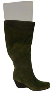 Aerosoles New Elegant Dark Green Boots