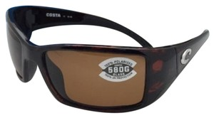 Costa Del Mar Polarized COSTA Sunglasses BLACKFIN BL 10 Tortoise Frame w/ 580 Copper