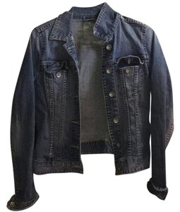 H&M medium washed blue Womens Jean Jacket