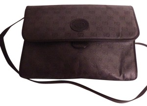 Gucci Excellent Vintage High-end Bohemian Great Everyday Or Two-way Style Cross Body Bag