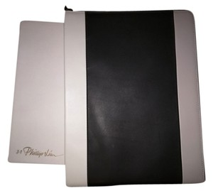 3.1 Phillip Lim 3.1 Phillip Lim Black and White Leather iPad case.
