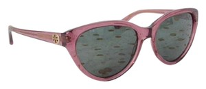 Tory Burch Tory Burch TY 7045 Clear Pink Oval Sunglasses