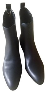 Alexander Wang Leather Bootie Boot Black Boots