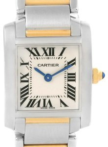 Cartier Cartier Tank Francaise Small Steel Yellow Gold Quartz Watch W51007Q4