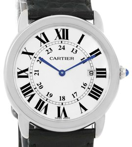Cartier Cartier Ronde Solo Large Steel Silver Roman Dial Watch W6700255