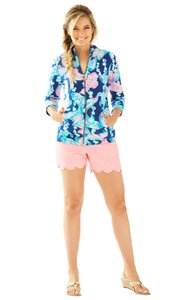 Lilly Pulitzer Going Coastal Reagan Zip Up Sweatshirt