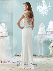 Mon Cheri Enchanting By Mon Cheri; Style # 215100 Wedding Dress