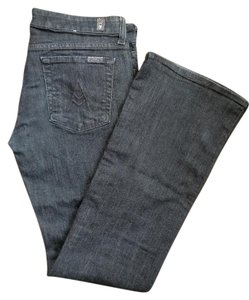 7 For All Mankind Boot Cut Pants Indigo