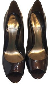 Anne Klein Bronze Patent Saxon Bronze/Metallic Pumps