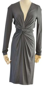 Donna Karan short dress grey on Tradesy