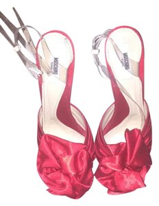 Moschino Red Pumps
