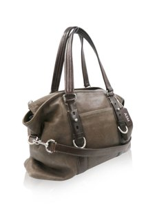 Coach Harrison Tote Satchel in Brown