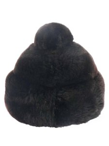 Danciger of New York Danciger of New York Vintage Dark Brown Rabbit Fur Hat