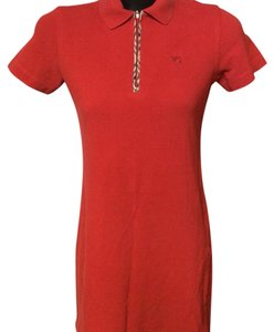 Burberry London short dress Red on Tradesy