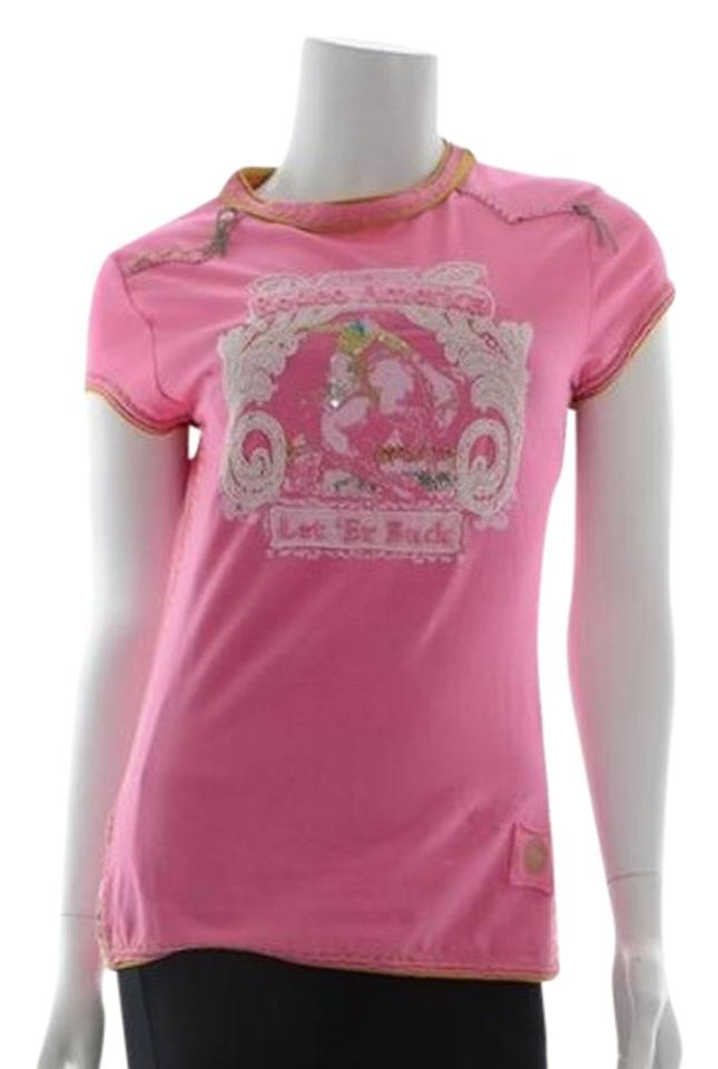Double d ranchwear rodeo america shirt t shirt pink for Ranch dress n rodeo shirts