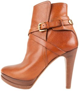 Ralph Lauren Collection London Tan Boots