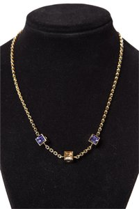 Louis Vuitton Louis Vuitton Gold-Tone Gamble Necklace