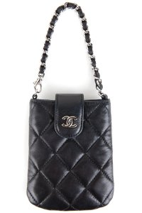 Chanel Wristlet in Black