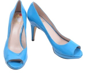 Vince Camuto Ashlynn Pool Blue Pumps