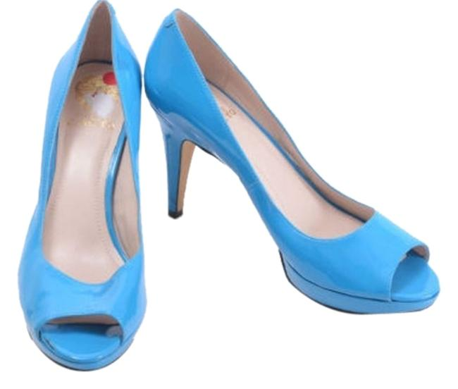 Item - Pool Blue Ashlynn Pumps Size US 9.5 Regular (M, B)