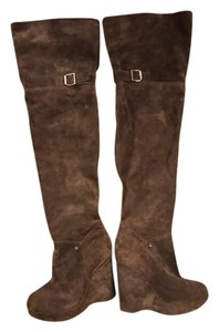 Juicy Couture Over The Knee Like New Brown Boots