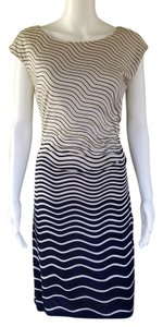 Ann Taylor LOFT short dress navy blue Jersey Pull-on on Tradesy