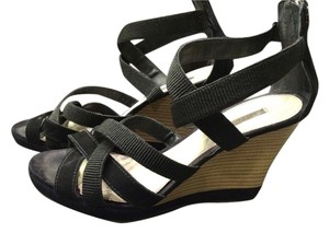Geox Strappy Sandals black Wedges