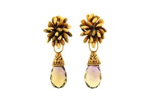 Other STUNNING-MUST HAVE 14K Gold W Detachable Ametrine Earrings